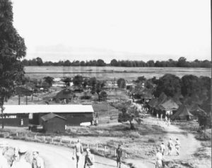 62nd Replacement Depot at Manila. 1945. Ex-POW's were re-assigned here to the KNIL