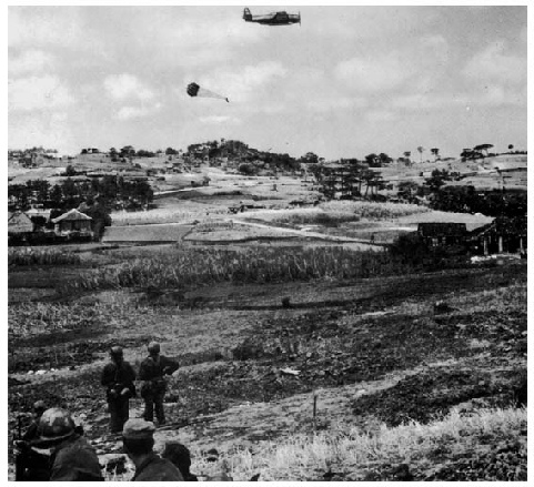 American soldiers at Okinawa