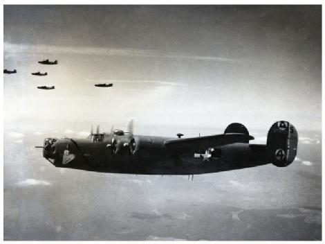 B24 bomber