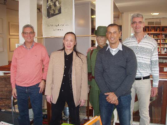 Jan Verstraaten, Ron Lindeman, Ferry Brouwer von Gonzenbach and Peter Verstraaten